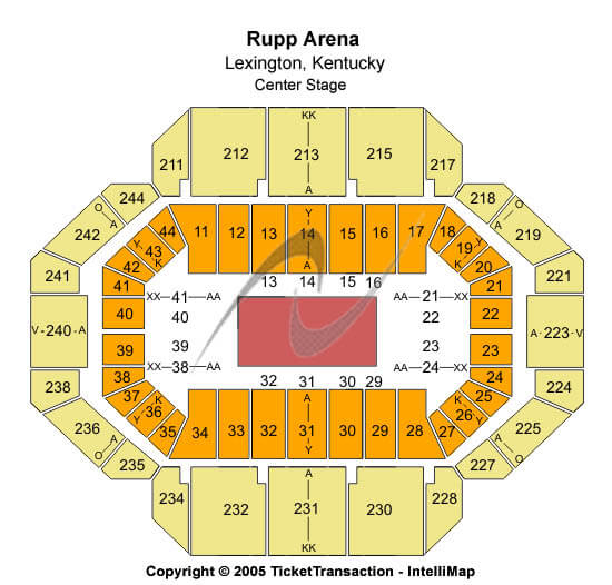 Rupp Arena Trans-Siberian Orchestra Seating Chart